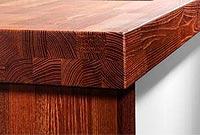 Столешницы из натурального дерева