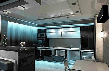 Кухни в стиле хай-тек (hi-tech)