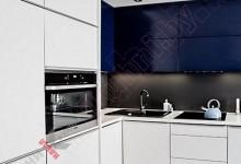 Кухня из крашеного МДФ №300