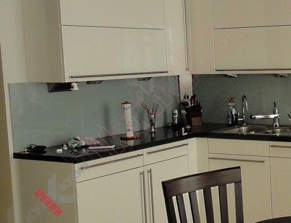 Кухня из крашеного МДФ №270