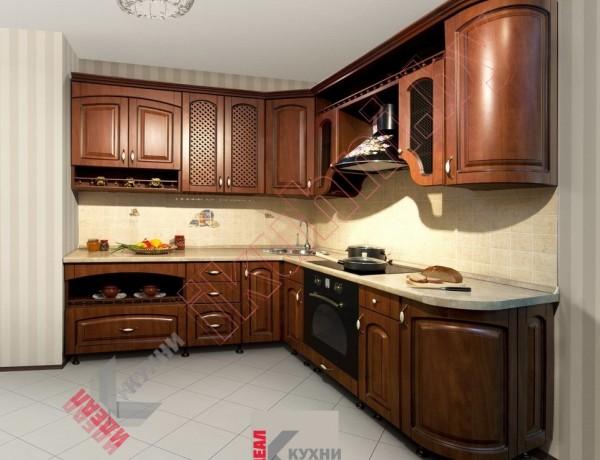 Кухня в стиле ретро №01