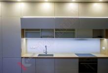 Кухня из акрила №01