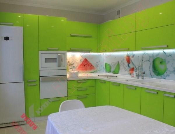Кухни из крашеного МДФ №295