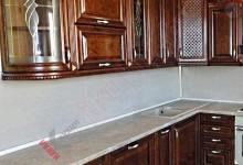 Кухня из массива ольхи №01