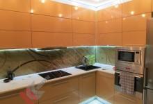 Глянцевая кухня №01
