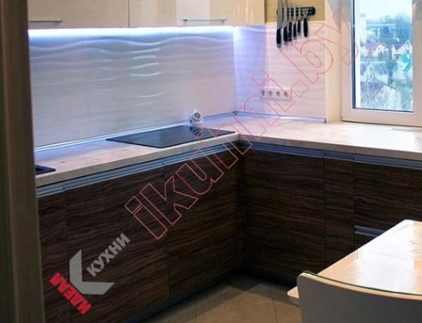 Кухня из пластика №104