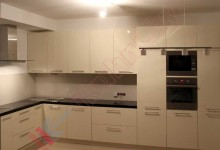 Кухни из крашеного МДФ №46
