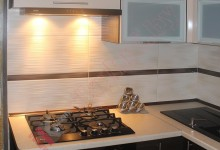 Кухни из пластика №131