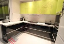 П — образная кухня №02