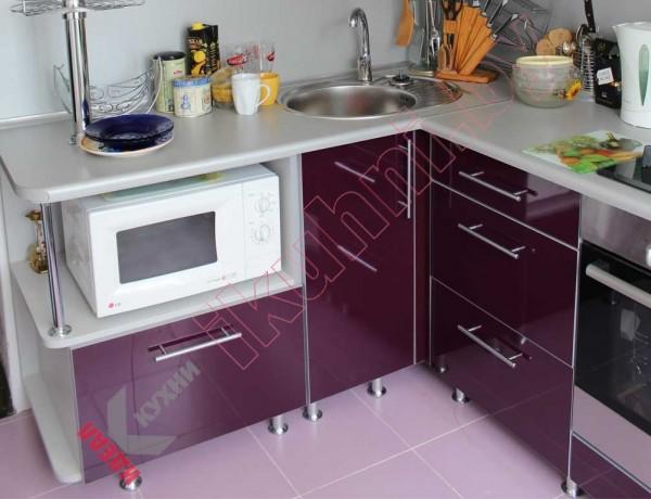 Кухня из пластика №11