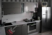 Кухня из пластика №09