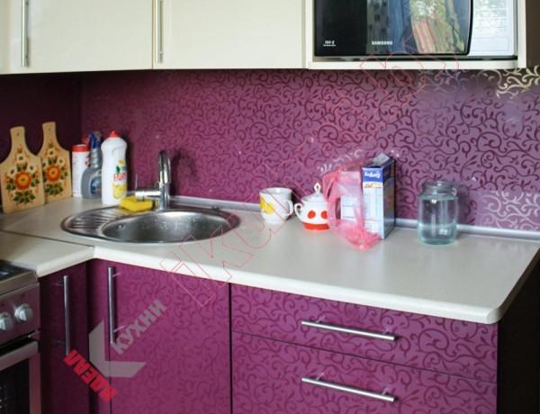 Кухни из пластика №157