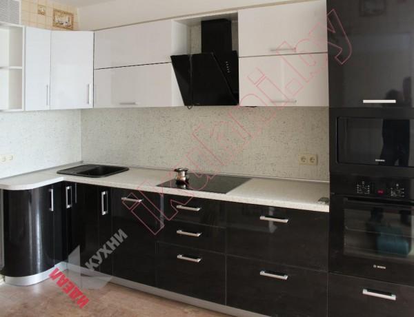 Кухня из пластика №27