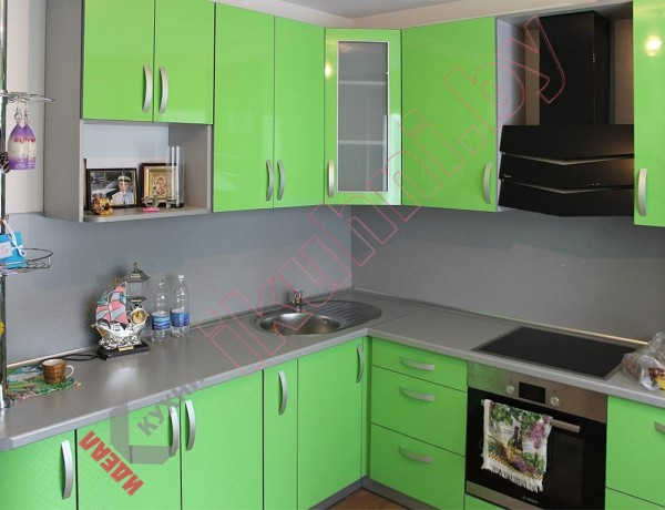 Кухни из пластика №142