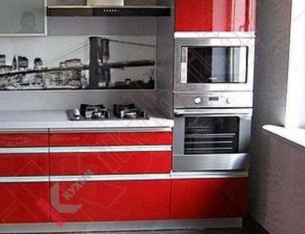 Кухня из акрила №07