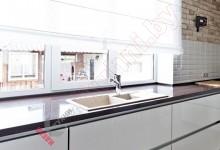 Кухня из акрила №04