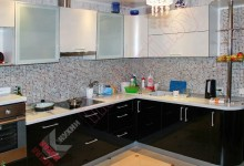 Кухня из акрила №193