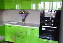 Глянцевая кухня №03