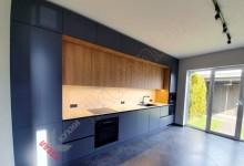 Прямая (линейная) кухня №02