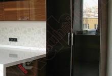 Кухня с каменной столешницей №01