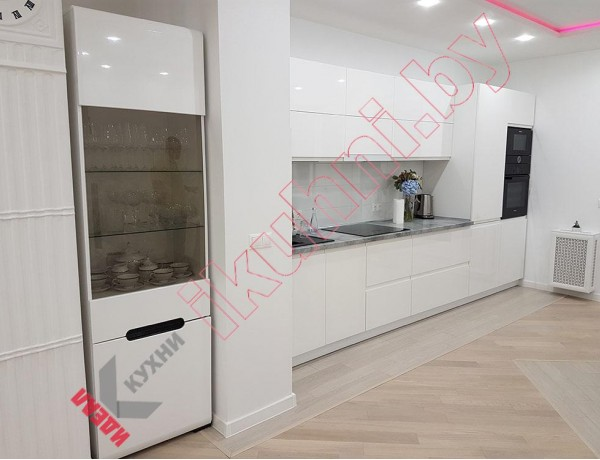 Кухня крашеный МДФ №313