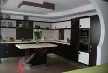 Кухня хай-тек №004