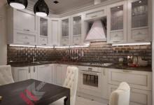 Кухня неоклассика №002