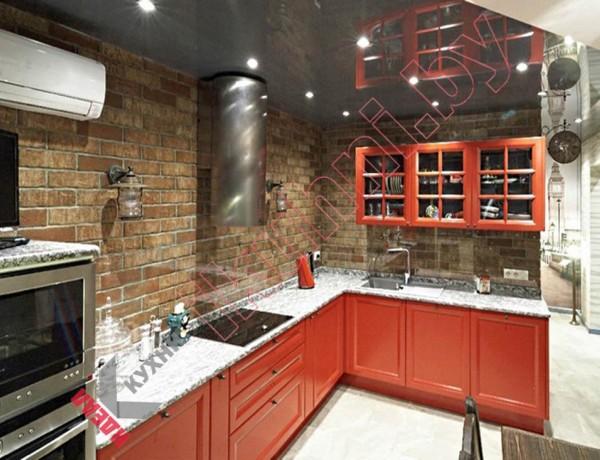 Кухня в английском стиле №08