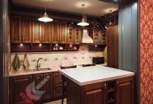Кухня в английском стиле №10