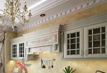 Кухня в английском стиле №16