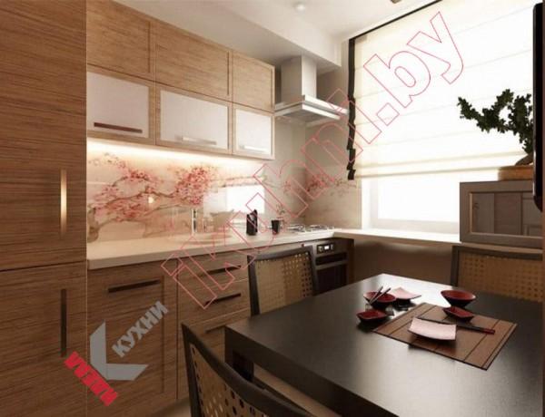 Кухня в японском стиле №17