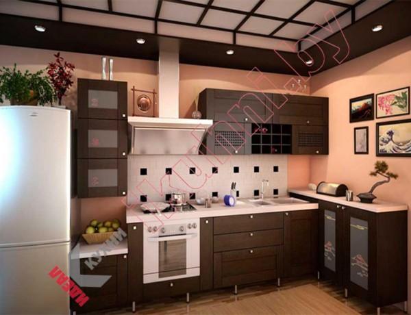 Кухня в японском стиле №06