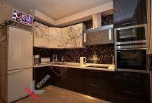 Угловая кухня №02