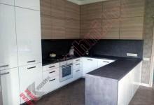 П — образная кухня №06