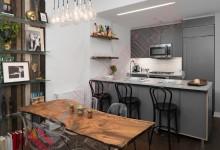 Матовая кухня №01