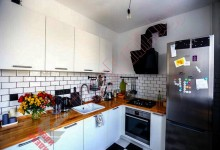 Кухня в скандинавском стиле №01