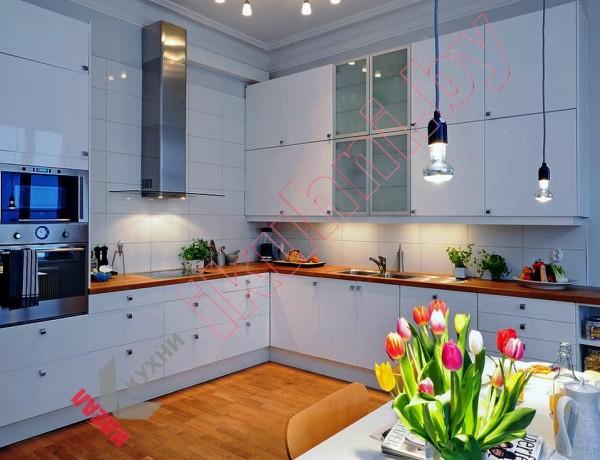 Кухня в скандинавском стиле №03