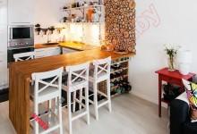 Кухня в скандинавском стиле №05