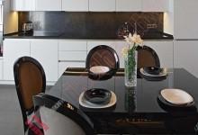 Прямая (линейная) кухня №01