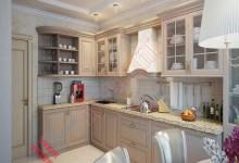 Кухня в итальянском стиле №01