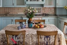 Кухня в итальянском стиле №02