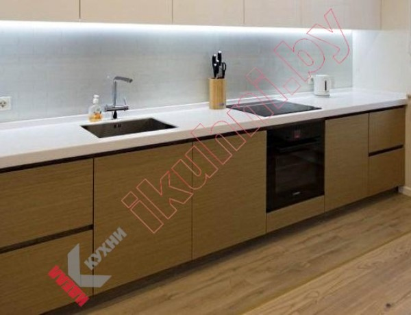 Кухня из шпона №03