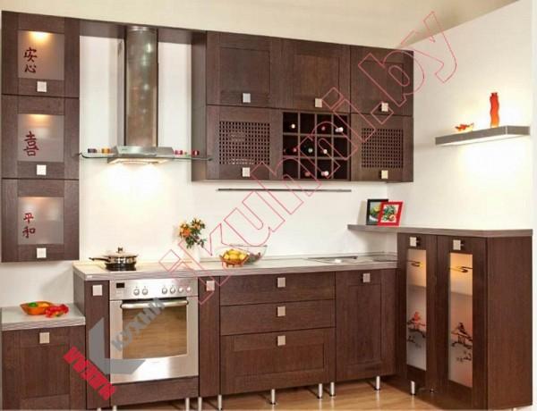 Кухня в китайском стиле №03