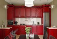 Кухня из массива дерева №02