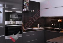 Кухня из акрила №02