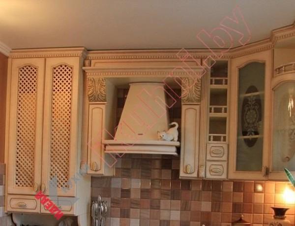 Кухня из массива дерева №03