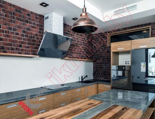 Кухня в стиле лофт №03