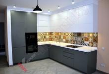 Кухня из акрила №12