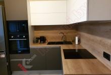 Кухня угловая из Феникса FENIX  №08