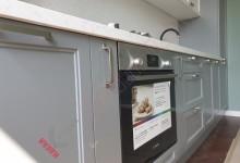 Встроенная кухня в классическом стиле №04